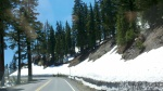Road to Crater Lake - yes, it really is June 17th!